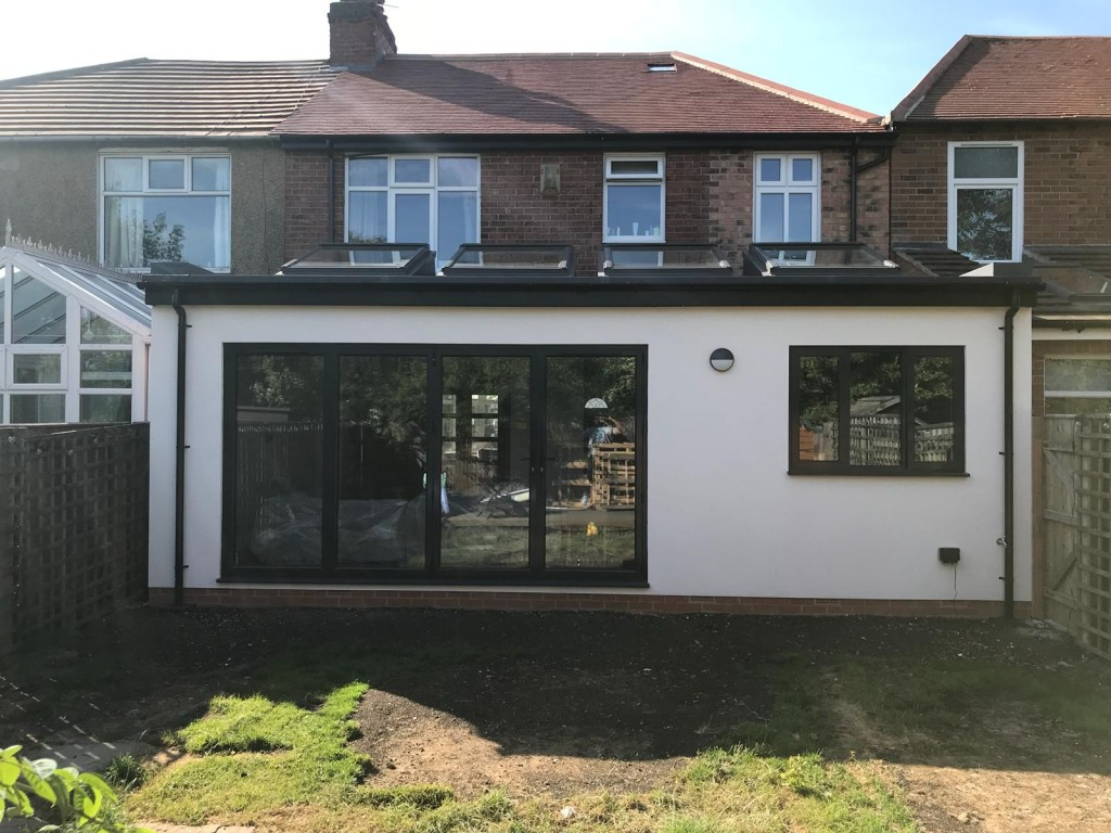 Brantwood rear extension 4M X 7.5M